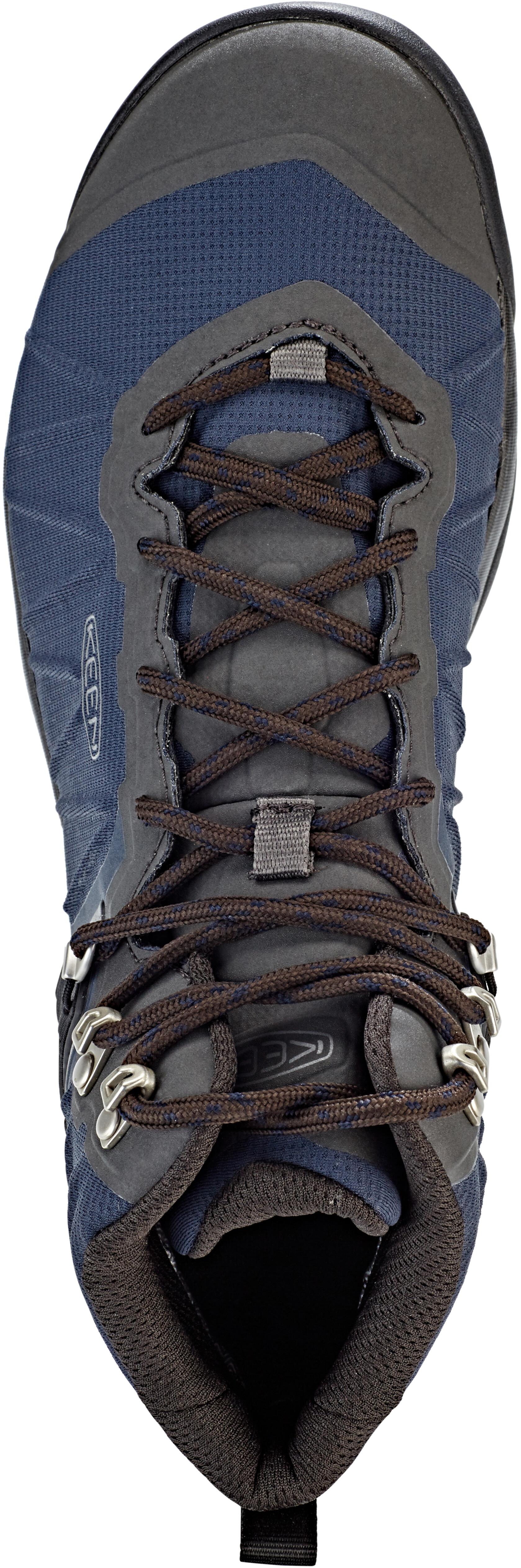 759242676a8 Keen Venture WP Mid Shoes Men blue nights/raven